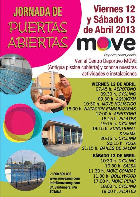 El Centro Deportivo Move organiza unas jornadas de puertas abiertas, Foto 1