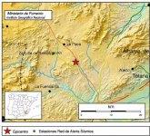 Movimiento sísmico de intensidad 4,3 al noroeste de Aledo