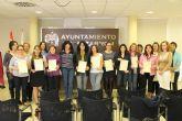 Entregados los diplomas del curso de 'ayuda a domicilio'
