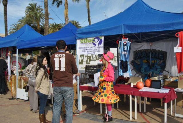 Las asociaciones locales salen a la calle en la I  Feria de Asociaciones de San Javier - 2, Foto 2