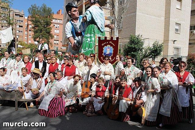 El grupo de coros y danzas Ciudad de Totana promocionó una vez más a Totana en el Bando de la Huerta, Foto 2