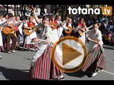 El grupo de coros y danzas Ciudad de Totana promocionó una vez más a Totana en el Bando de la Huerta
