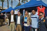 Las asociaciones locales salen a la calle en la I  Feria de Asociaciones de San Javier
