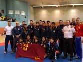 El Club Budoka Deportivo Budoka de Torre-Pacheco consigue tres oros, una plata y un bronce en el Campeonato de España Kick Boxing