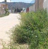 El PSOE de La Unión denuncia el estado de abandono que sufren las plazas de la urbanización Sierra Minera por parte del Equipo de Gobierno del PP
