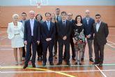 Bascuñana y Pedro Alberto Cruz inauguran el nuevo pabellón deportivo del IES 'Salvador Sandoval' torreño
