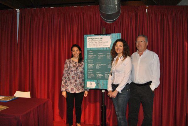 Santiago de la Ribera estrena programación teatral estable en el Príncipe de Asturias - 1, Foto 1