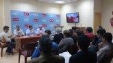 El PSOE de la Comarca del Campo de Cartagena y Mar Menor celebra una reunión de trabajo en Torre Pacheco