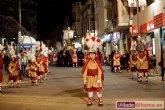 Los Armaos de Totana participaron el pasado Sábado Santo en la Procesión de las Siete Palabras y del Sepulcro de Cristo de Alhama de Murcia