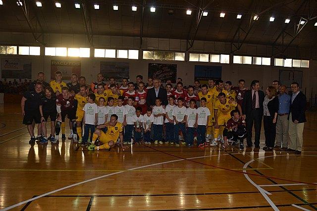 ElPozo Murcia FS y DINA de Moscú firman tablas en un partido muy aguerrido (2-2) - 1, Foto 1
