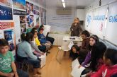 Más de 200 escolares de centros de enseñanza de Totana participan en las actividades organizadas dentro de la campaña 'Yo, ciudadano europeo'