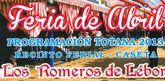 La Asociación 'los Romeros de Lébor' organiza un programa de actividades con motivo de la Feria de Abril en Totana
