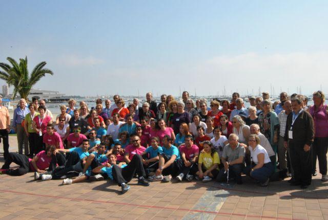 Mayores de San Javier, Las Torres de Cotillas y Arganil, Portugal, disfrutaron de un día en San Javier dentro del programa europeo de intercambio en el que participan - 1, Foto 1