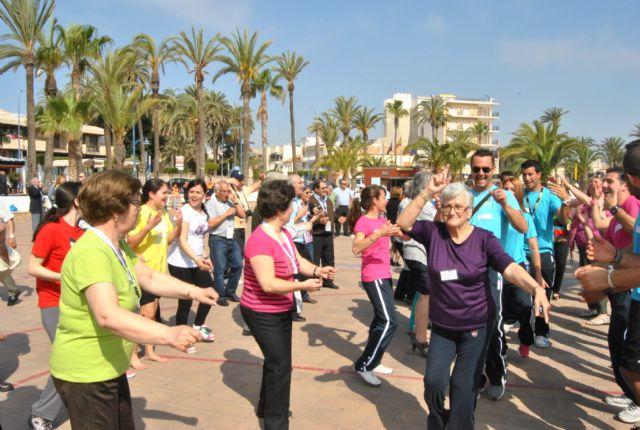 Mayores de San Javier, Las Torres de Cotillas y Arganil, Portugal, disfrutaron de un día en San Javier dentro del programa europeo de intercambio en el que participan - 2, Foto 2
