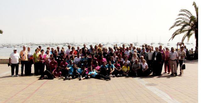 Mayores de San Javier, Las Torres de Cotillas y Arganil, Portugal, disfrutaron de un día en San Javier dentro del programa europeo de intercambio en el que participan - 3, Foto 3