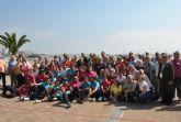 Mayores de San Javier, Las Torres de Cotillas y Arganil, Portugal, disfrutaron de un día en San Javier dentro del programa europeo de intercambio en el que participan