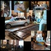 Policía Local y Protección Civil intervienen en el dispositivo del suceso provocado por el vehículo que se empotró en la Iglesia de Santiago