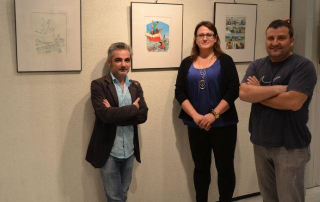 Juan Álvarez y Jorge G. exponen Los mendrugos y enseñan las claves del cómic en San Pedro - 1, Foto 1