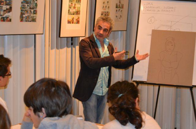 Juan Álvarez y Jorge G. exponen Los mendrugos y enseñan las claves del cómic en San Pedro - 3, Foto 3