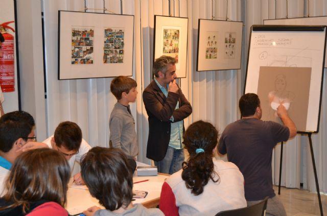Juan Álvarez y Jorge G. exponen Los mendrugos y enseñan las claves del cómic en San Pedro - 4, Foto 4