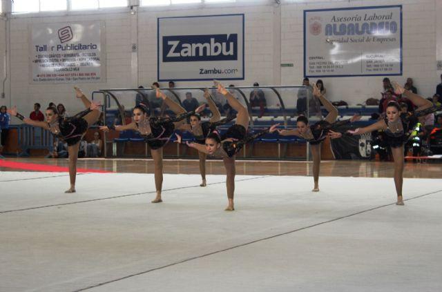 Más de 120 gimnastas en el III Campeonato Regional de Gimnasia Estética de Grupo - 1, Foto 1