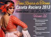 La Peña Rociera de Totana participa en la Feria de Abril con varias actividades