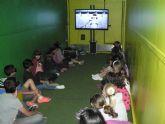 'Escuela de reciclaje' enseña a los escolares de Mazarrón a reciclar aparatos eléctricos y electrónicos