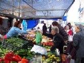 El mercadillo semanal se adelanta del 1 de mayo al martes 30 de abril por la festividad del Día del Trabajador