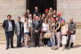 13 alumn@s holandeses conocen Mazarrón de manos del I.E.S. 'Felipe II'