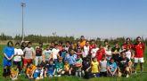 Todos a jugar al rugby en la escuela de Las Torres de Cotillas