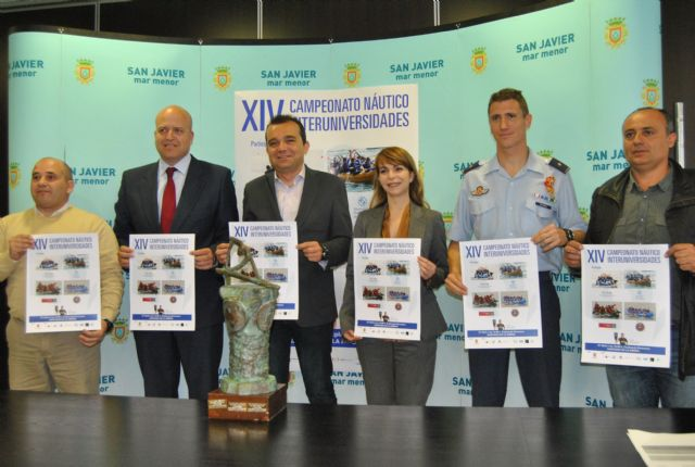 El XIV Trofeo Náutico Interuniversidades vuelve a reunir a las 4 universidades de la Región en Santiago de la Ribera, el sábado 27 de abril - 1, Foto 1