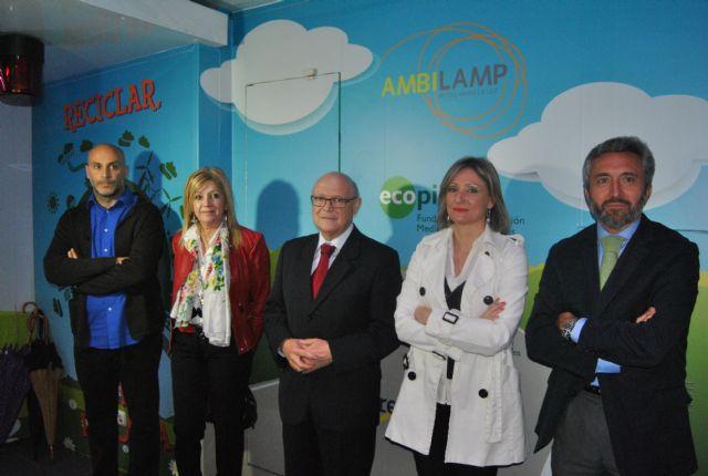 El aula móvil Escuela de Reciclaje recibe en San Javier a  más de 450 escolares en 3 días - 1, Foto 1