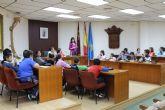 Niños del C.P. Virgen del Rosario celebran una sesi�n plenaria en el Consistorio