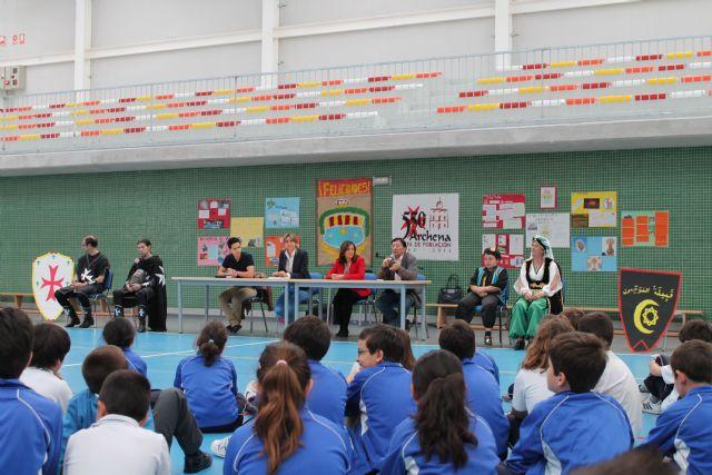 Ciclo de charlas a escolares sobre el 550 Aniversario y Moros y Cristianos: hoy, los colegios Ope y Fuensanta - 2, Foto 2