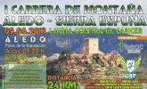 La I Carrera X Montaña Aledo - Sierra Espuña tendrá lugar el domingo 9 de junio