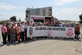 Mazarr�n cuenta con una nueva ambulancia gracias a la labor de la comunidad de residentes extranjeros