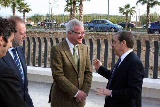 Valcárcel ha inaugurado esta mañana el gran proyecto europeo para Alcantarilla, en el entorno del museo de la Huerta - 2, Foto 2