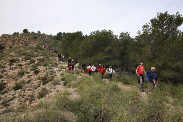 El próximo 6 de mayo se abre el nuevo plazo para las inscripciones de las rutas  por Carrascoy y Sierra Espuña dentro del programa Sendalhama - 1, Foto 1