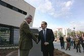 Valcárcel elogia la regeneración del espacio urbano y las posibilidades de desarrollo asociadas al proyecto 'Alcantarilla crece en verde'