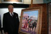 La exposición de pintura taurina de Pedro Escacena podrá visitarse hasta el 26 de mayo