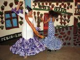 El encendido del recinto inaugura esta noche la Feria de Abril de Santiago de la Ribera