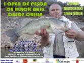 El I Open de Pesca de Black Bass desde Orilla se aplaza hasta el 15 de junio
