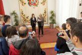 La concejala de Educación recibe a los participantes del Proyecto Comenius Let´s Play Together