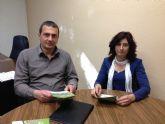 Pujante mantiene una reunión con directivos de Acude