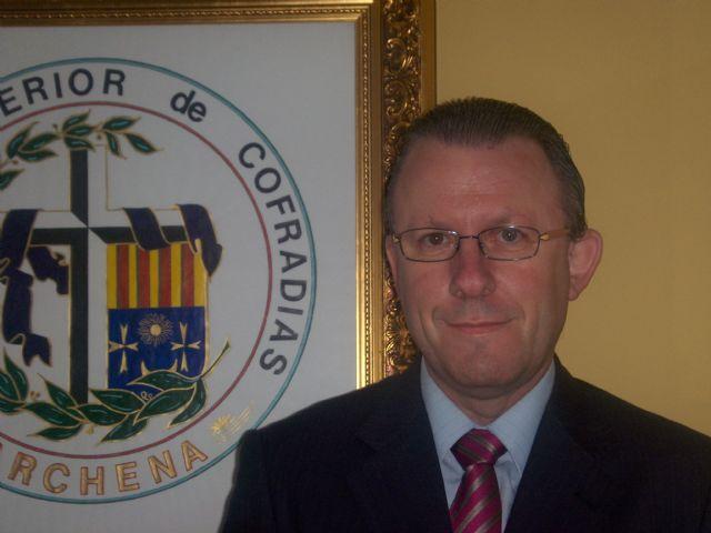 D. Juan Pio Abenza Moreno, reelegido como Presidente del Cabildo Superior de Cofradías de Archena - 1, Foto 1