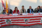 500 aficionados del Athletic Club de Bilbao procedentes de toda España celebran en Archena su XLI Congreso Internacional de Peñas