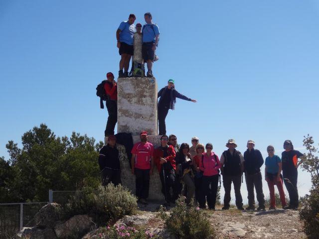 El Club senderista realizó la ruta Los Almeces por los Cuernos, por la Sierra De Ricote, Foto 3