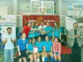 La cadetes del 'Siglo XXI' se proclaman campeonas regionales de fútbol sala en Deporte Escolar