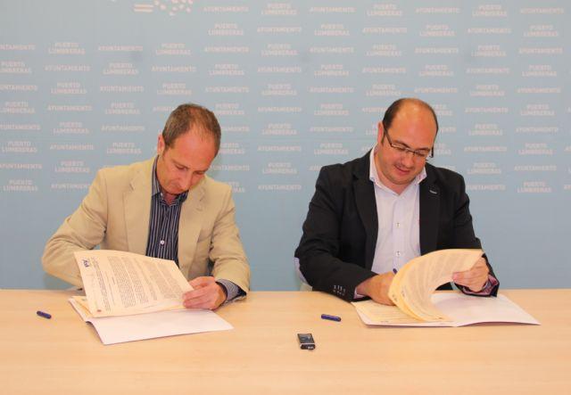 Nuevos convenios de colaboración con el Servicio Regional de Empleo y Formación para fomentar el empleo en Puerto Lumbreras - 2, Foto 2