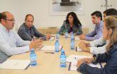 Nuevos convenios de colaboración con el Servicio Regional de Empleo y Formación para fomentar el empleo en Puerto Lumbreras